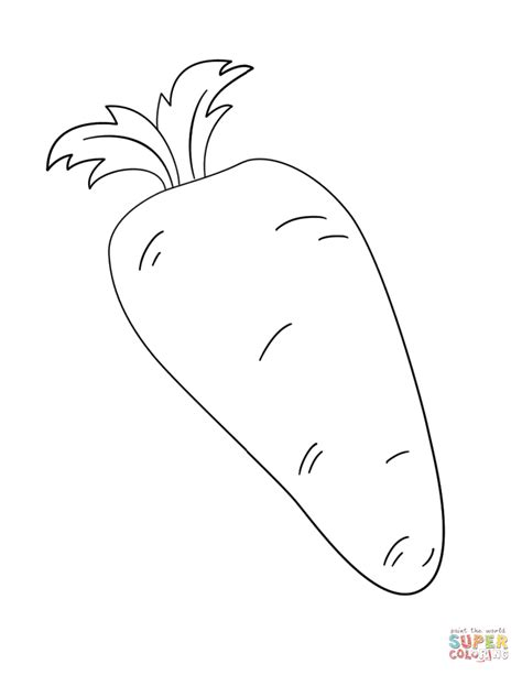 Coloring Carrot by Stylish Inspiration Ideas Carrots Coloring Pages Coloring