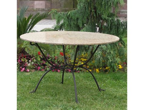 table ronde en fer forge salon de jardin table ronde fer forge qaland