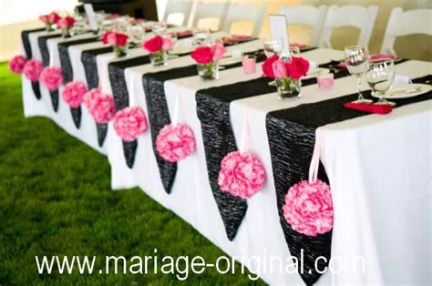 decoration de mariage originale