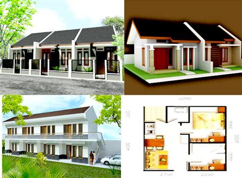 desain rumah kontrakan rumah desain minimalis