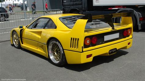 Yellow F40 yellow f40 yellow f40 with an lm kit and i