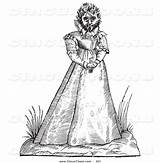 Circus Freak Hairy Woman Clipart Illustrations Royalty sketch template