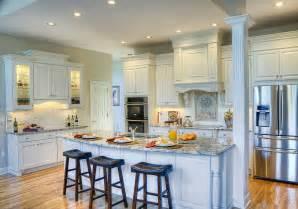 white kitchen island breakfast bar kitchen transformation haskell interiors