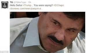 El Chapo and Donald Trump Jokes