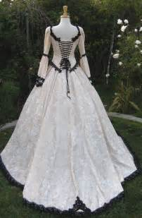 White Medieval Wedding Dress