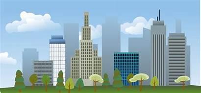 Vector Skyline 4vector Cityscape