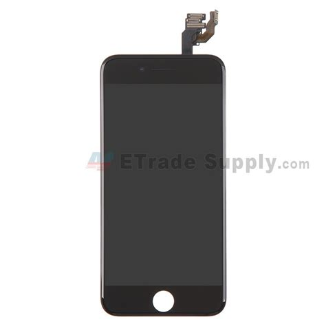 iphone home button on screen apple iphone 6 lcd and touch screen assembly with frame 17655