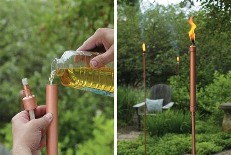11 diy tiki torches to light up your outdoor garden spaces