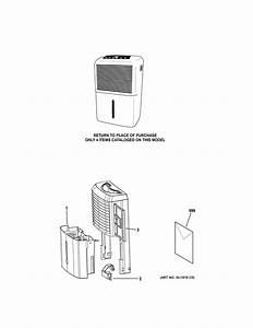 Looking For Ge Model Adel50lww1 Dehumidifier Repair
