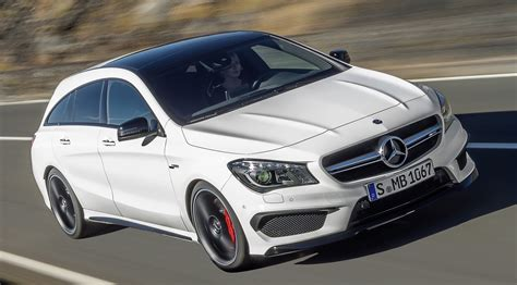 Here, 310 kw (421 hp) and 500 nm provide for unbridled performance. GALLERY: Mercedes CLA 45 AMG Shooting Brake
