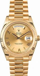 Montre Rolex Day-Date 40 : Or jaune 18 ct 228238