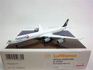 Lufthansa Rechnung Anfordern : herpa 1 500 526845 lufthansa airbus a340 600 d aihn gummersbach neu ebay ~ Themetempest.com Abrechnung