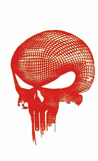 Punisher Skull Glowing Transparent Logos Desktop Res