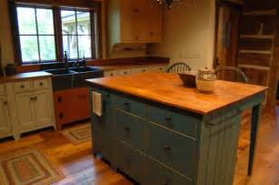 Log Cabin Kitchen Island Ideas by Central Kentucky Log Cabin Primitive Kitchen Eclectic