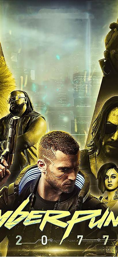 Cyberpunk 2077 Iphone Poster Wallpapers Xs 4k