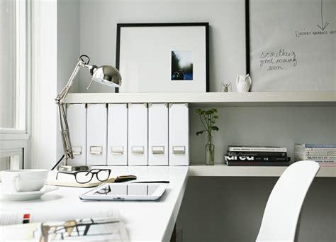 bureau de travail blanc bureau scandinave 50 idées pour un coin de travail pratique