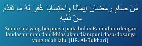 pahala ampunan allah di bulan ramadhan hamizan update