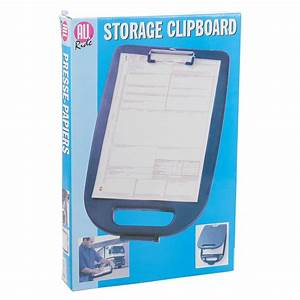 Document paperwork clipboard storage box protective for Secure document storage box