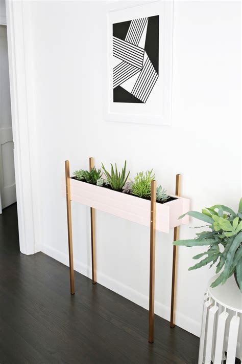 diy plant stands  fill  home  greenery