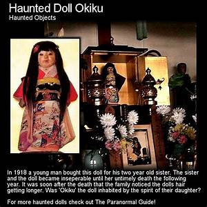 Haunted Doll Okiku Haunted Objects Located In A Little