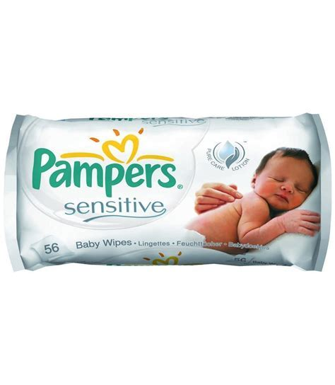 Pampers Natural Clean Wipes 64's