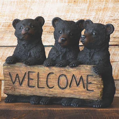 Three Bears Welcome Sign