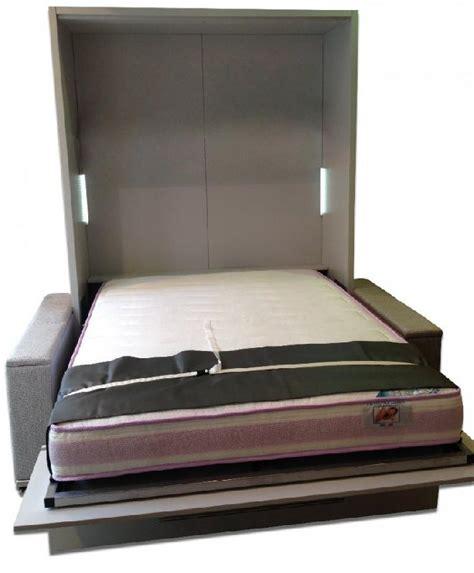 lit escamotable avec canape integre armoire lit escamotable lyon canape integre