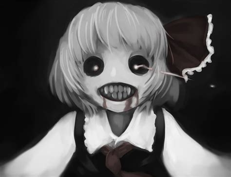 Scary Shadow Anime Girl