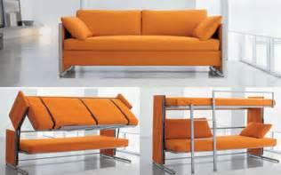 bonbon 39 s brilliant doc sofa transforms into a bunk bed in