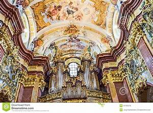 St. Peter And Paul Church In Melk Abbey Editorial Photo ...