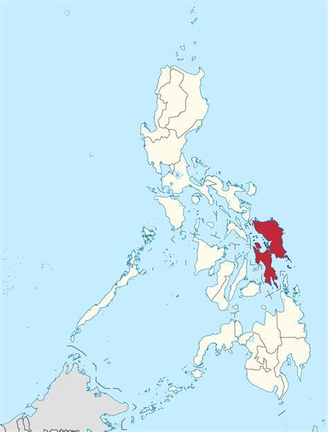 fileeastern visayas  philippinessvg wikimedia commons