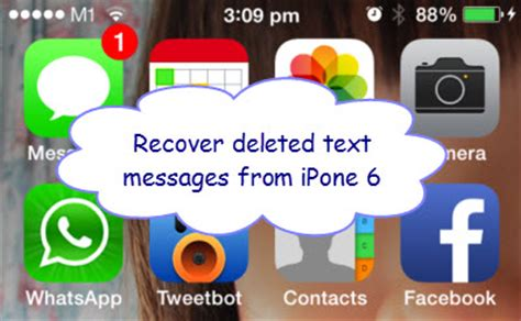 how to recover deleted text messages from iphone how to recover deleted text messages from iphone 6