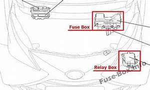 Fuse Box Diagram  U0026gt  Toyota Aygo  Ab40  2014