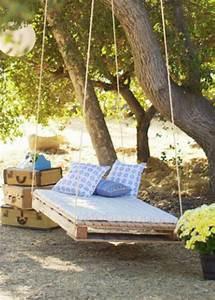 17 meilleures idees a propos de balancoire en bois sur With canape en resine exterieur 16 5 projets en palette pour le jardin