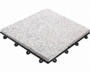klickfliese granit 30 x 30 cm grau bei hornbach kaufen With feuerstelle garten mit bodenfliesen balkon kunststoff