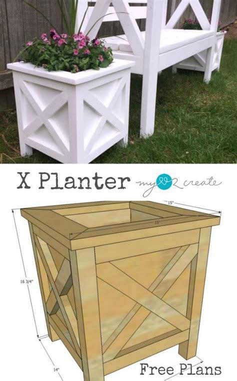 creative diy wood  pallet planter boxes  style