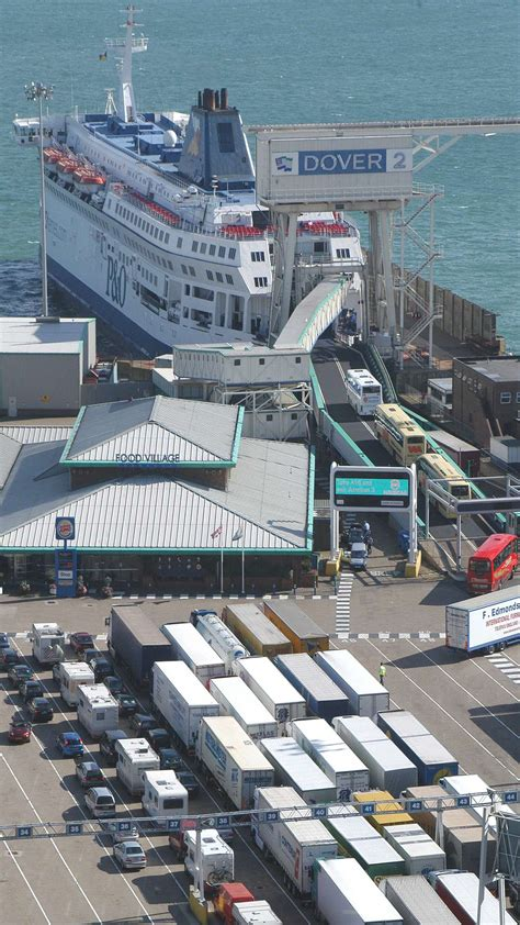 Dover remains Europe's busiest ferry port