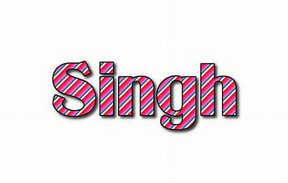 Singh Logos Flamingtext