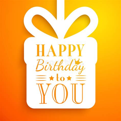 Use as is or easily change fonts or colors. Happy Birthday Card. Typography Letters Font Type Stock Vector - Illustration of crown, birth ...