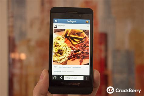 how to view your instagram feed on your blackberry smartphone crackberry