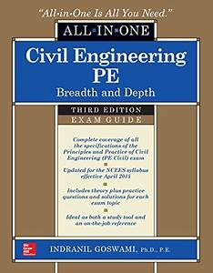 Civil Engineering All In One Pe Exam Guide  Breadth And