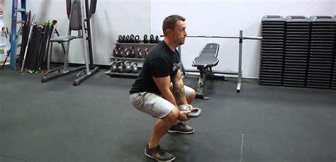 curl kettlebell squat workout beginners