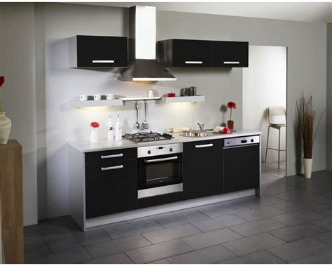 cuisine noir laque beau meuble cuisine noir laque 6 gallery of meuble de