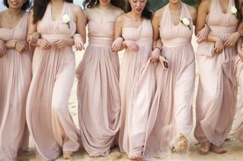brautjungfern kleider chagne bridesmaid dresses the bridal loft