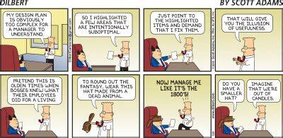 funniest dilbert comic strips  idiot bosses