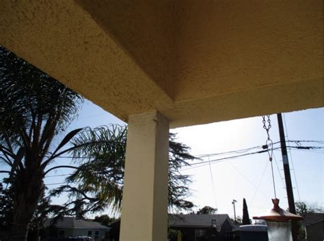 replacing  roof overhang support post building