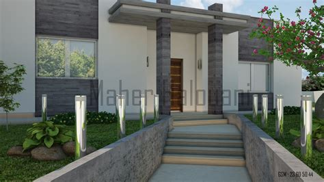 decoration facade exterieur maison decoration facade maison exterieur tunisie avec emejing