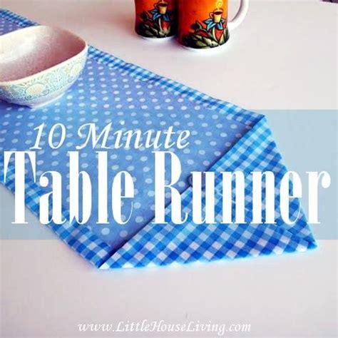 table runner tutorial ideas  pinterest