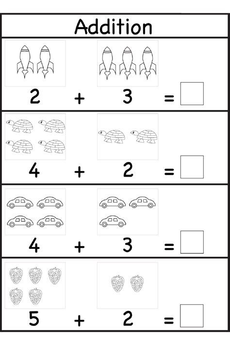 Addition For Worksheets For Grade 1 Is Helpful Educative Media  Printable Shelter
