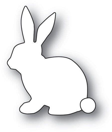 gentle bunny memory box craft die easter bunny